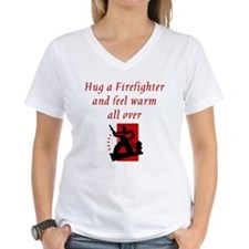 Hug A Firefighter Shirt