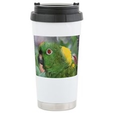 Yellow Nape Amazon Parr Travel Mug