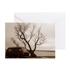 Vanagon by the Lake Greeting Card