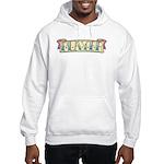 Player Tattoo Design Hooded Sweatshirt
