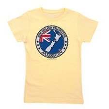 New Zealand Wellington LDS Mission Flag Girl's Tee