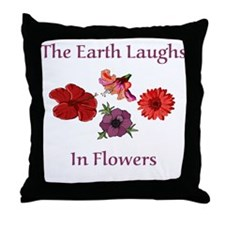 Florist Throw Pillow