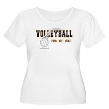 Volleyball: Pass Set Spike T-Shirt