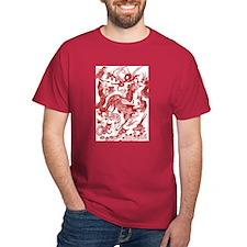Autumn Rust Multidragon T-Shirt