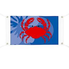 Crab Bucket Bag Banner