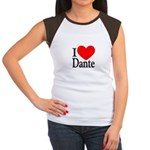 I Love Dante Women's Cap Sleeve T-Shirt