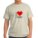 I Love Dante Light T-Shirt