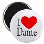 I Love Dante Magnet