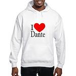 I Love Dante Hooded Sweatshirt