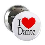 I Love Dante Button