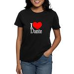 I Love Dante Women's Dark T-Shirt