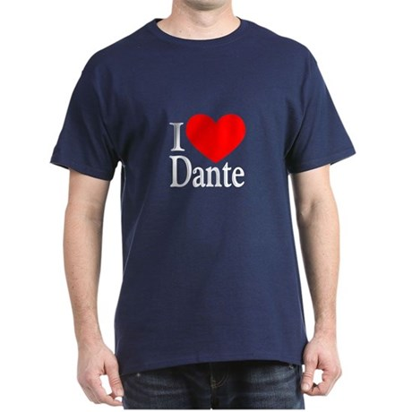 I Love Dante Dark T-Shirt