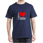 I Love Dante Dark T-Shirt