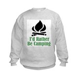 Rather Be Camping Sweatshirt