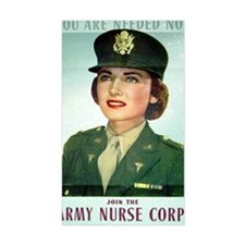 Army Nurse Recruiting Decal