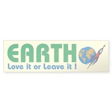 Love It Or Leave It - Bumper Bumper Sticker
