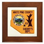 White Pine Sheriff Framed Tile