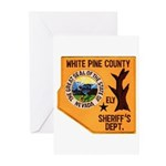 White Pine Sheriff Greeting Cards (Pk of 10)