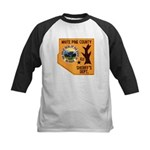 White Pine Sheriff Kids Baseball Jersey