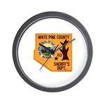 White Pine Sheriff Wall Clock