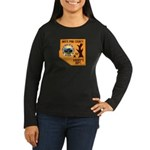 White Pine Sheriff Women's Long Sleeve Dark T-Shir