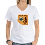 White Pine Sheriff Women's V-Neck T-Shirt