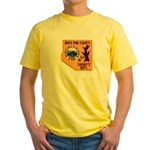 White Pine Sheriff Yellow T-Shirt