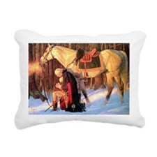 Mt. Vernon Painting of G Rectangular Canvas Pillow