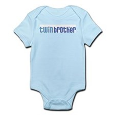 Twin Brother Infant Creeper 1-blue