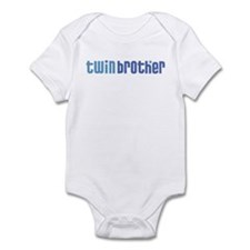Twin Brother Infant Creeper 1-white