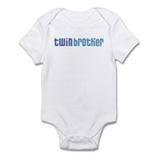 Twin Brother Infant Creeper 2-white