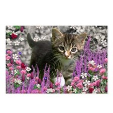 Emma Tabby Kitten in Flow Postcards (Package of 8)
