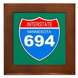 Interstate 694<BR>  Framed Tile