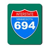 Interstate 694<BR> Mousepad