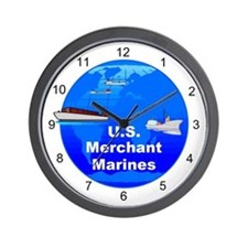 Merchant Marine Wall Clock