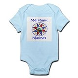 Merchant Marine Infant Bodysuit