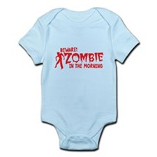 BEWARE Zombie in the Morning! Body Suit