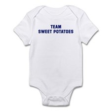 Team SWEET POTATOES Infant Bodysuit