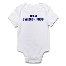 Team SWEDISH FOOD Infant Bodysuit