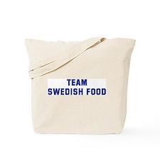 Team SWEDISH FOOD Tote Bag