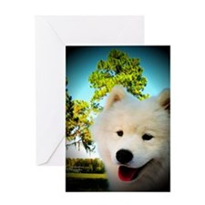 Chi Samoyed Greeting Card
