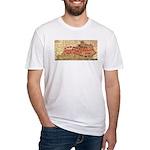 Flat Kentucky Fitted T-Shirt