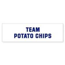 Team POTATO CHIPS Bumper Bumper Sticker