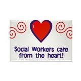 Social Workers Rectangle Magnet