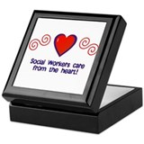 Social Workers Keepsake Box