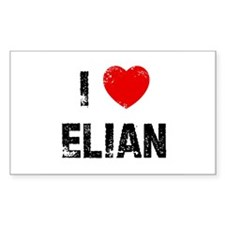I * Elian Rectangle Decal