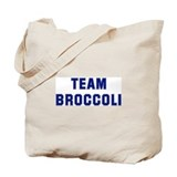Team BROCCOLI Tote Bag