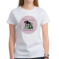 Fun Hunter/Jumper Equestrian Horse Tee