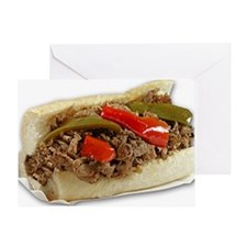 Italian Beef Sandwich from Chicago Greeting Card