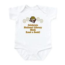 National Library Week Infant Bodysuit